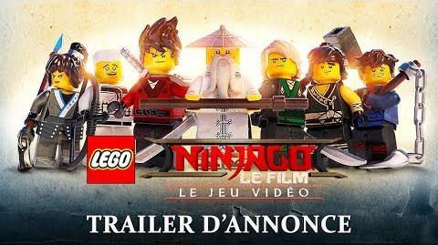 LEGO NINJAGO, le film le jeu vidéo - Trailer d'Annonce