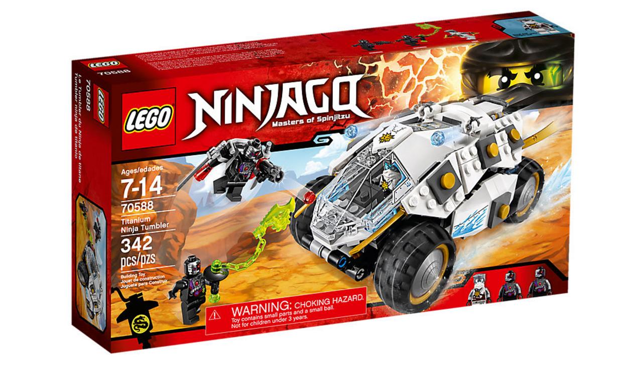 70588 Titanium Ninja Tumbler
