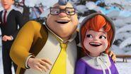 Big Ed et Fiona-La compétition de snowboard