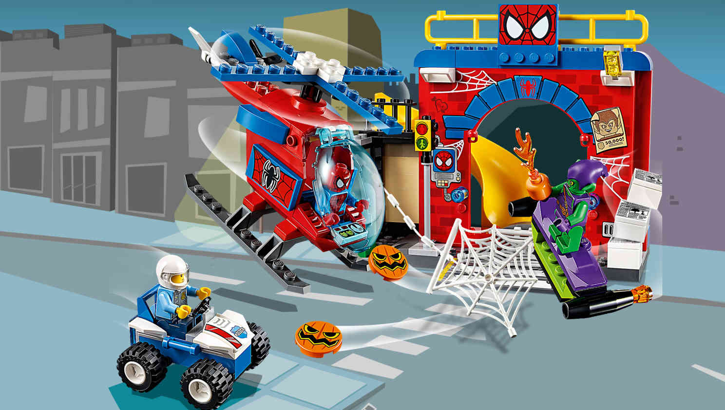 10687 La cachette de Spider-Man