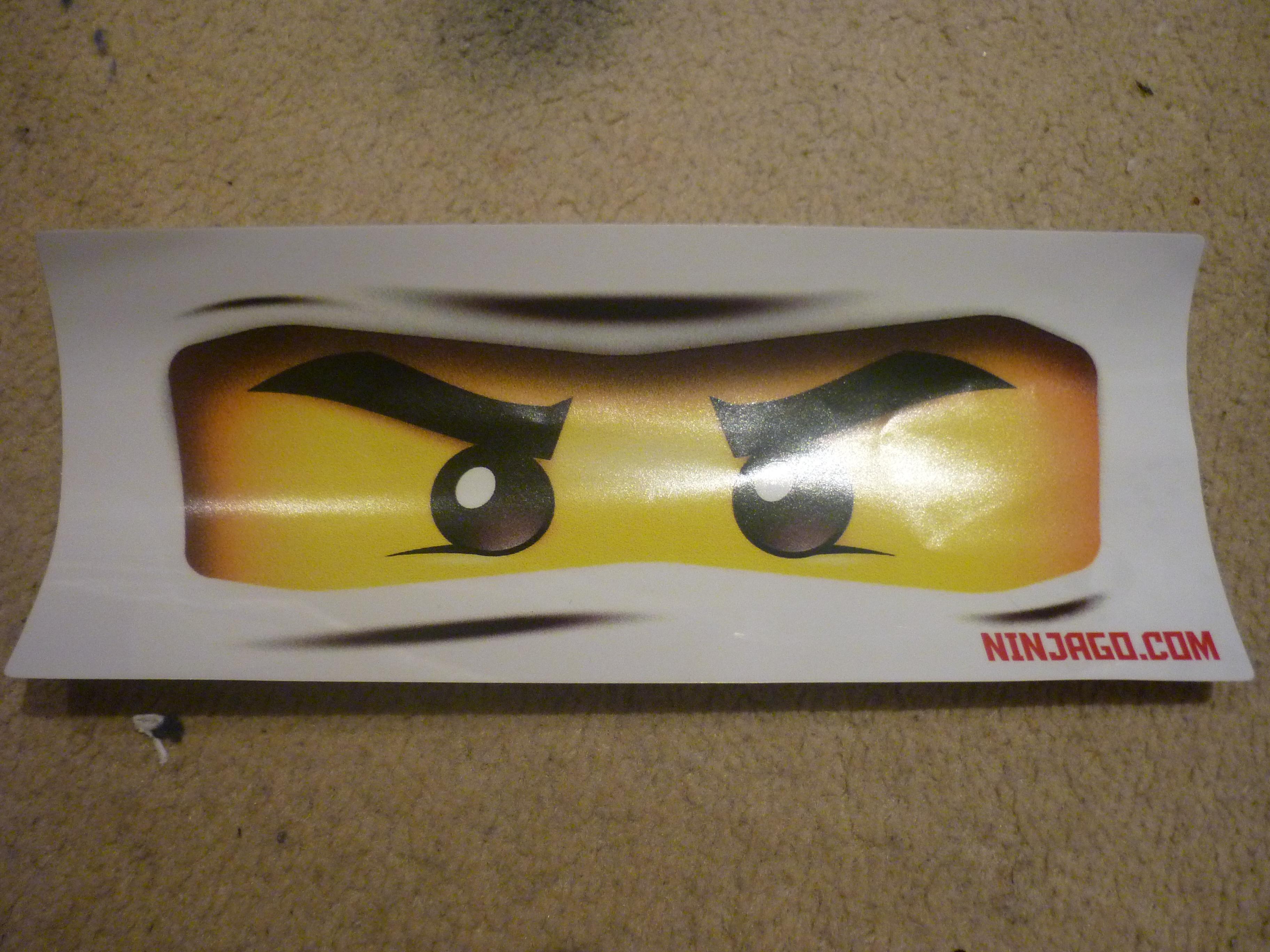 4617163 Ninjago Eyes Sticker