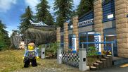 Lego City U Forest Police Station