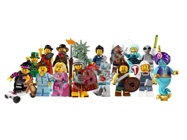 LEGO Minifigures Serie 6 8827