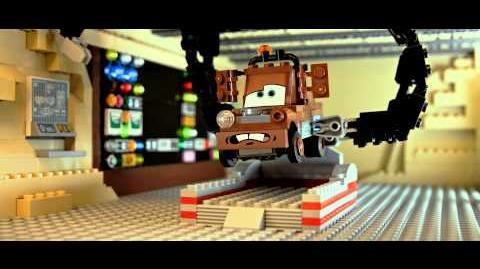 Disney•Pixar Cars - LEGO - Mater's Brick Tales- The Great Race Case