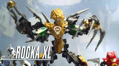 Hero Factory Scorpio goes up against Rocka XL (Most viewed)