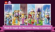 Disney Princesses Toute la magie des Princesses Disney à construire