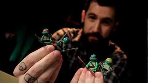 LEGO® Teenage Mutant Ninja Turtles Designer Video- Part 1