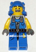 Power Miner - Beard Stubble Guy pm006