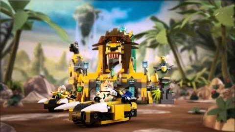LEGO Chima - 70010 Lví chrám CHI