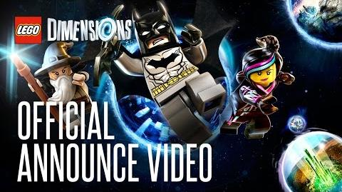 LEGO Dimensions Official Announce Video