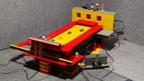 LEGO Rally Automat , Retro Autorennen ..