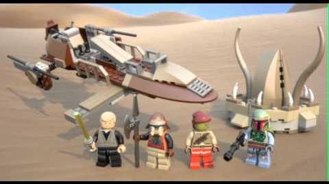 LEGO STAR WARS - Desert Skiff 9496