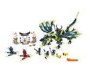 Lego Ninjago Attack of The Morro Dragon 3