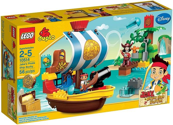 10514 Jake's Pirate Ship Bucky