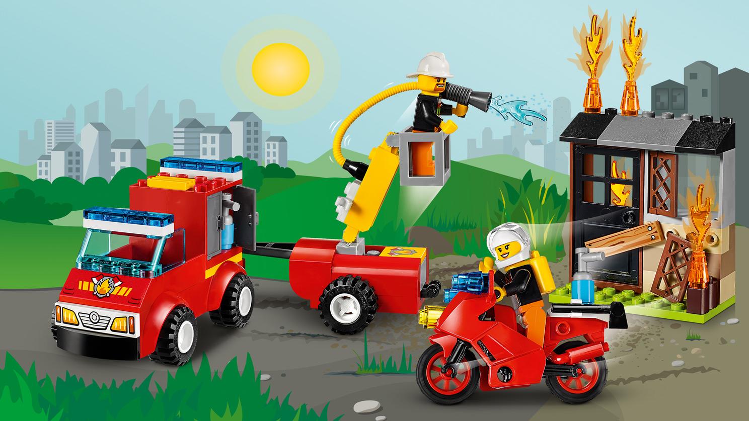 """10740 La valisette """"les pompiers"""""""