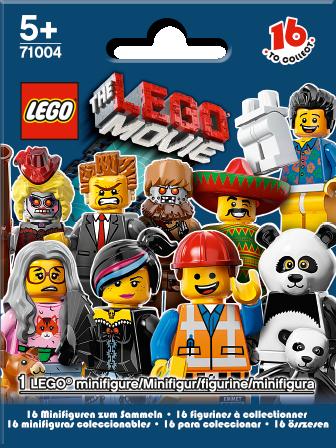 71004 Minifigures Série La Grande Aventure LEGO