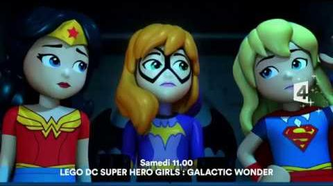 DC Super Hero girls Galactic wonder - bande annonce