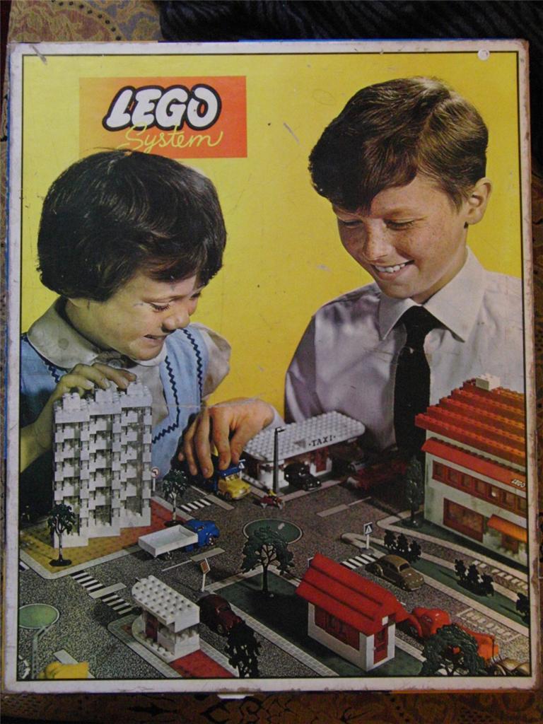 810 Town Plan - UK, Cardboard Box