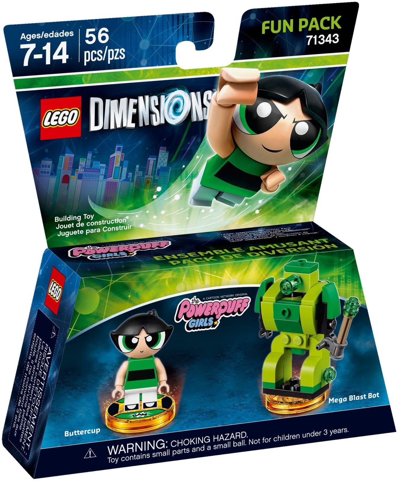 71343 The Powerpuff Girls Buttercup Fun Pack