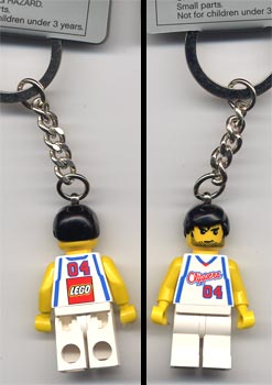 850690 Clippers Player Key Chain