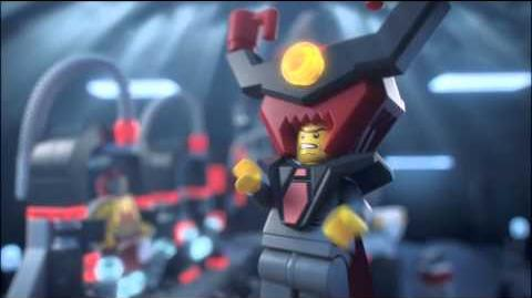 Lego Movie 70809 LORD BUSINESS' EVIL LAIR Lego 3D Review