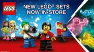 New LEGO sets now in-store
