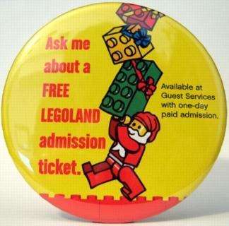 Pin36 LEGOLAND California Holiday 2004
