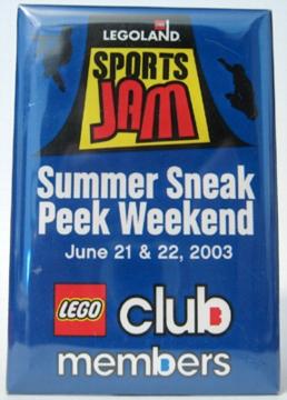 Pin40 LEGOLAND California Sports Jam 2003