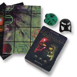 26379 BIONICLE Bohrok Swarm Trading Card Game: Green Pack