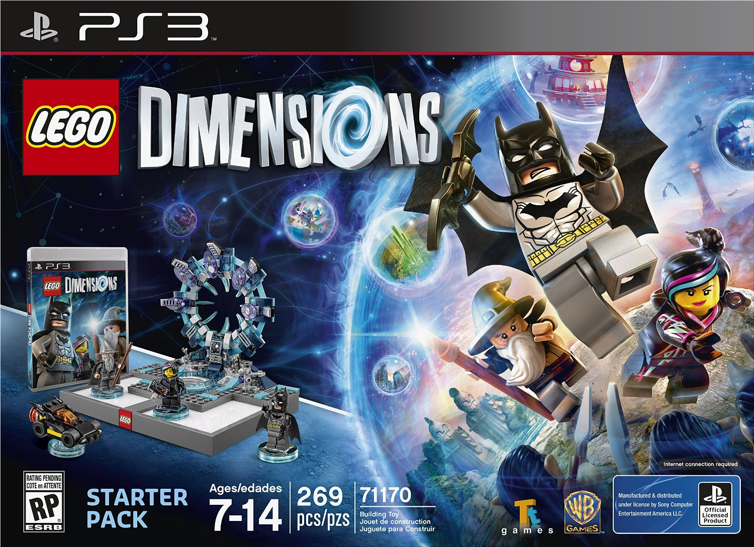 71170 LEGO Dimensions Starter Pack: PS3