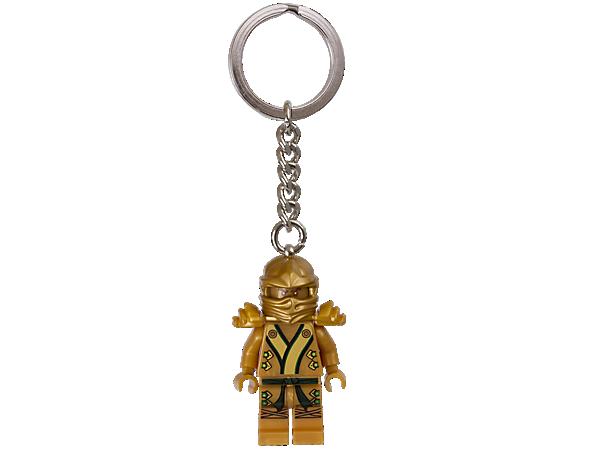 850622 Porte-clés Ninja d'or