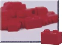 970008 1 x 2 Red Bricks
