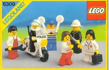 6309 Town Minifigures