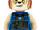 5002421 LEGO Legends of Chima Laval Minifigure Clock