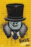 The LEGO Batman Movie Poster graffiti The Penguin