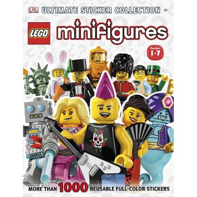DK Ultimate Sticker Collection Minifigures Theme