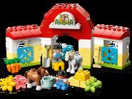 10951 L'écurie et les poneys 2
