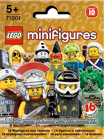 71001 Minifigures Série 10