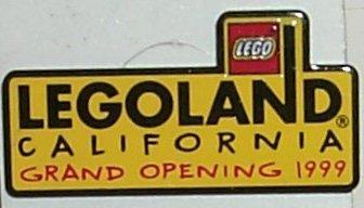 Pin80 LEGOLAND California Grand Opening 1999