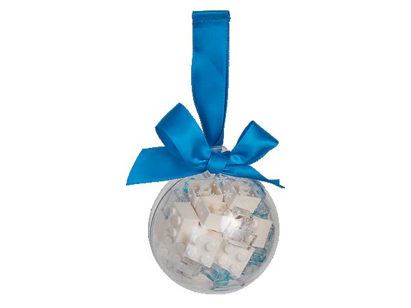 851358 Boule de Noël avec briques blanches