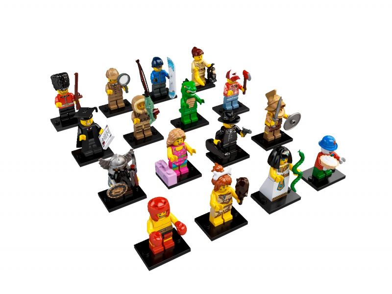 LEGO Minifigures Serie 5 8805