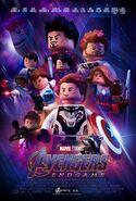 LEGO Avenger Endgame poster