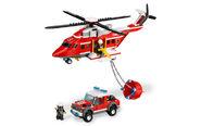 7206 L'hélicoptère des pompiers