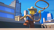 Cowboy Costume Guy In LEGO City