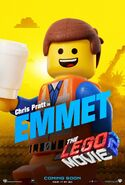 Lego movie two the second part emmet poster