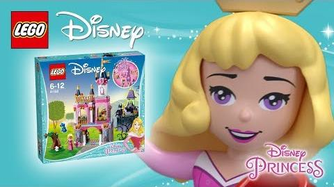 Sleeping Beauty's Fairytale Castle - Product Spin - LEGO Disney 41152