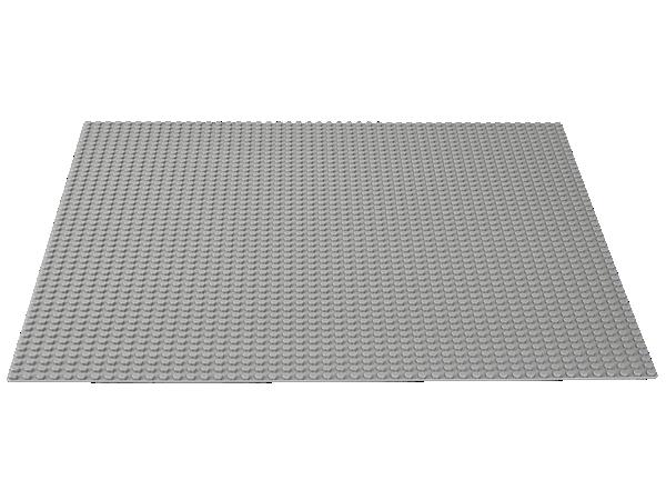 10701 La plaque de base grise