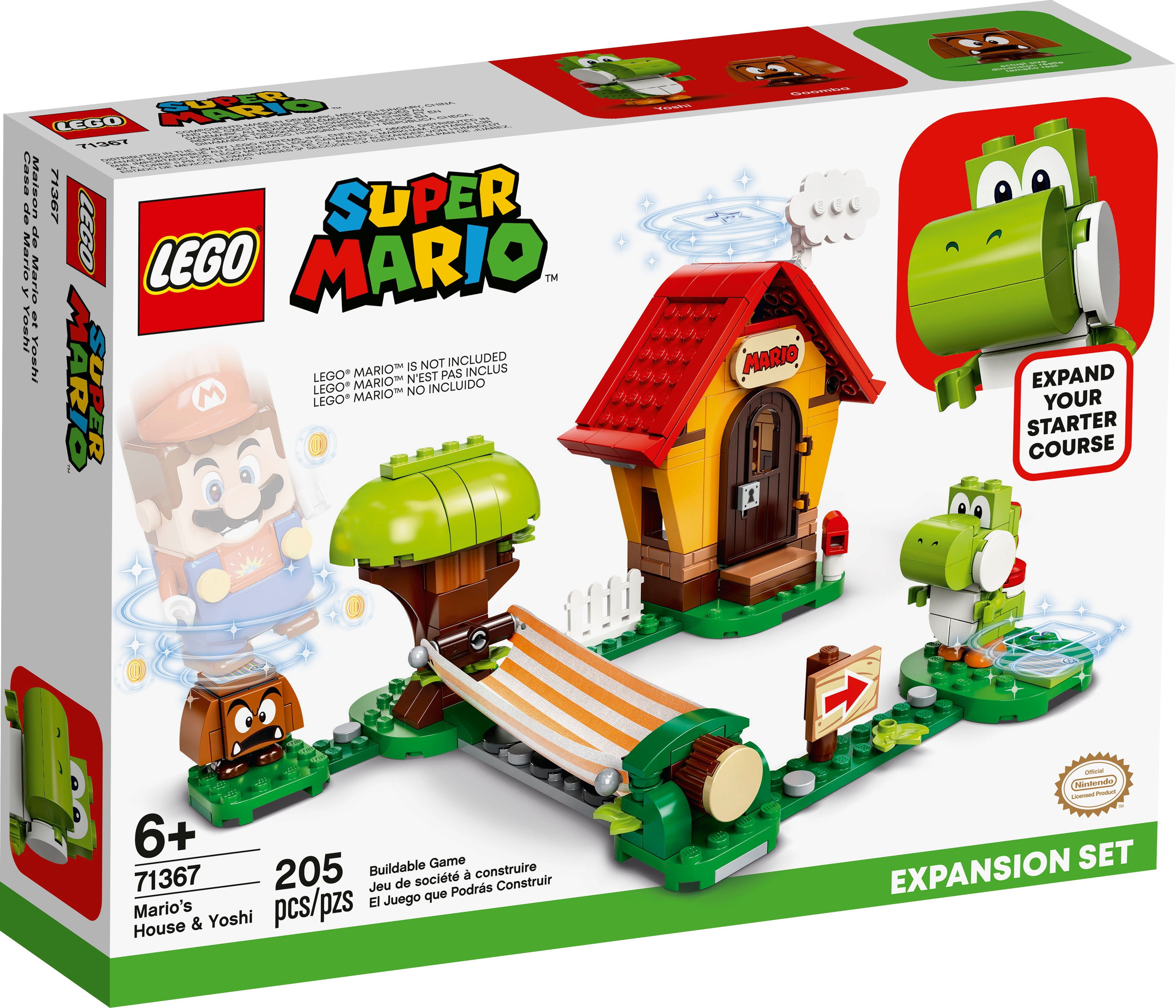 71367 Mario's House & Yoshi