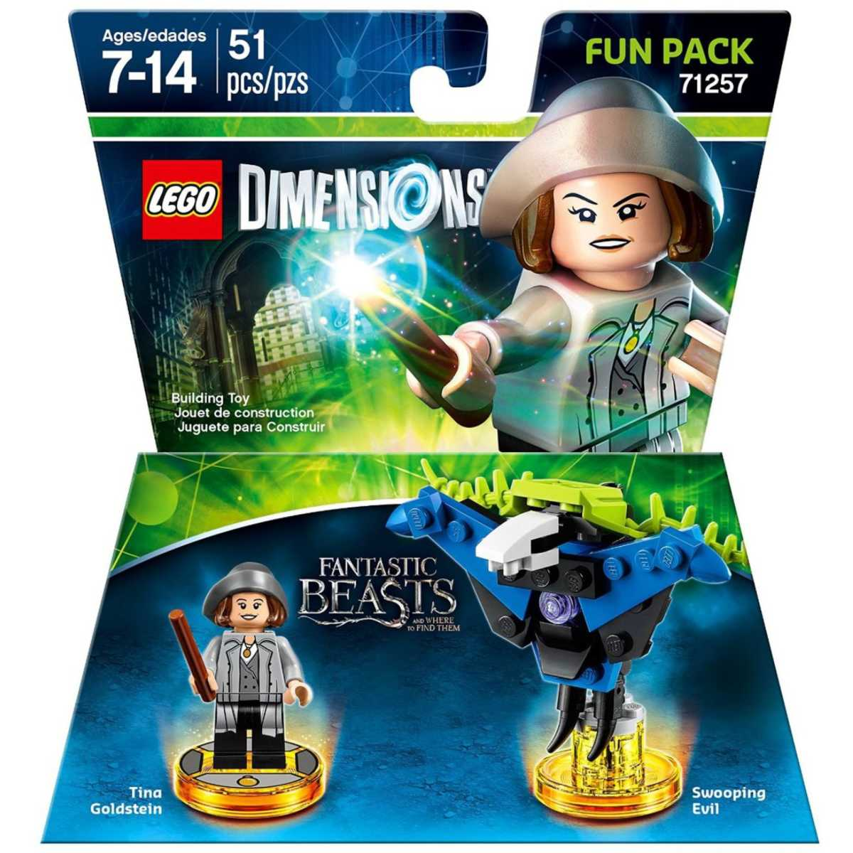 71257 Fantastic Beasts and Where to Find Them Porpentina Goldstein Fun Pack