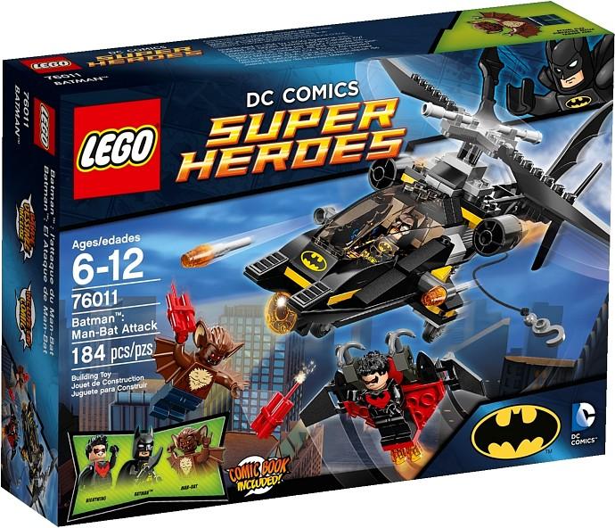 76011 Batman: Man-Bat Attack